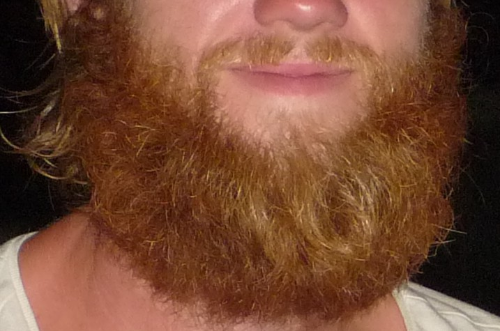 scruff a little ginger goes a long way of backpacks and beards. Black Bedroom Furniture Sets. Home Design Ideas