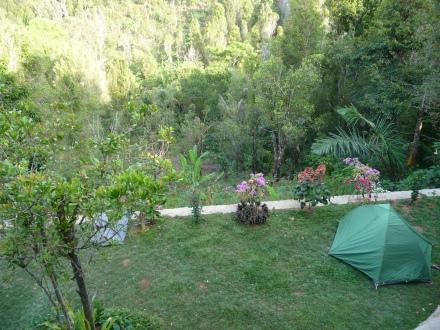 Camping at Villa Bintang in Munduk, Bali
